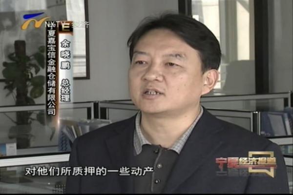 宁夏经济频道专访嘉宝信模式